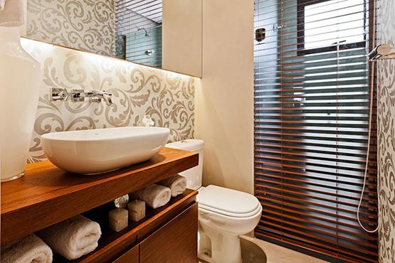 papel de parede no banheiro_moradabacana